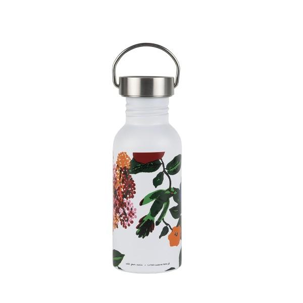 Edelstahl Flasche 0,5L Hibiskus