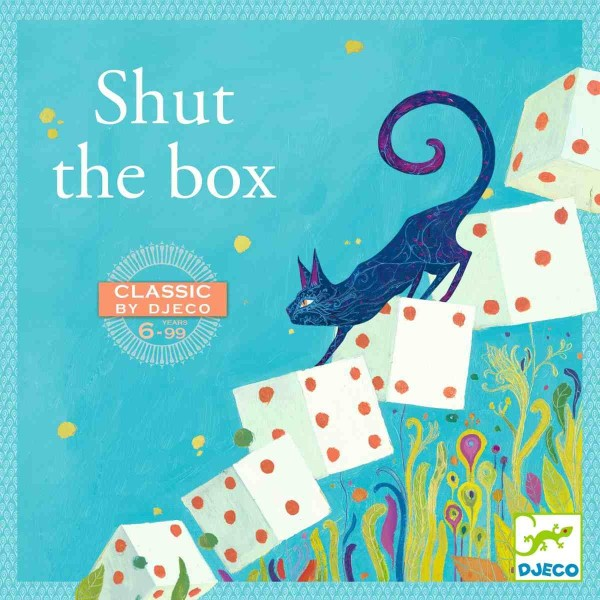 DJECO Spieleklassiker: Shut the box