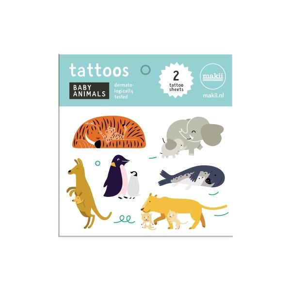 Tattoos Tierbabys