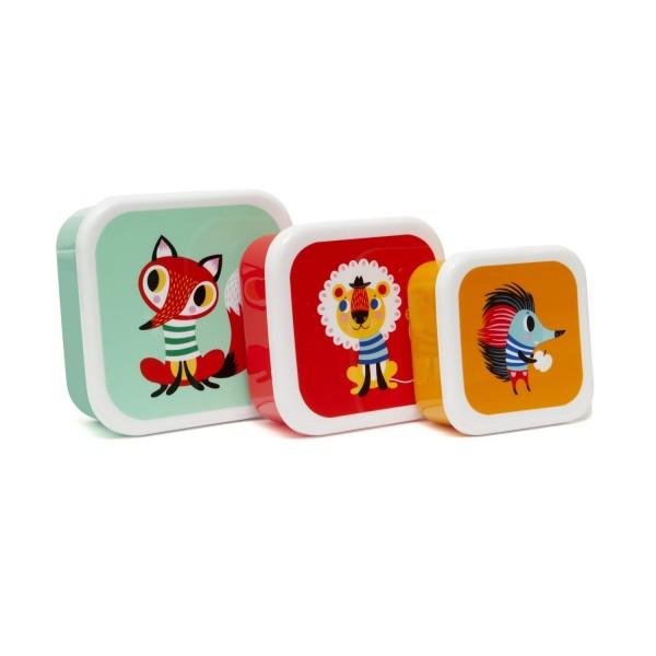 Brotbox Set Tiere