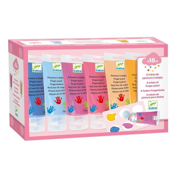 DJECO Fingerfarben sweet