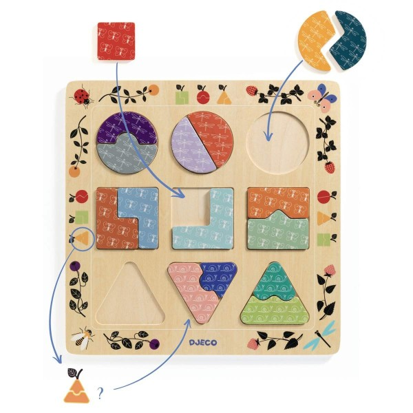 Holz Puzzle Ludigraphic