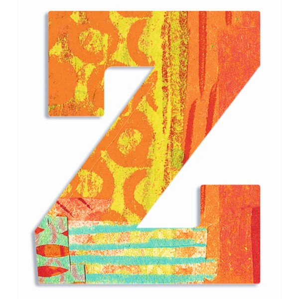 Buchstabe Serie Pfau - Z