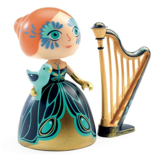 DJECO Arty Toys - Prinzessin: Elisa & Harfe