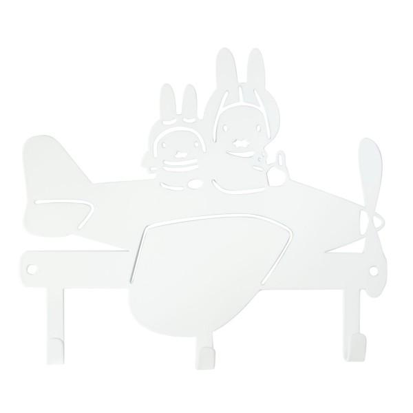 Miffy Garderobe Flugzeug weiß