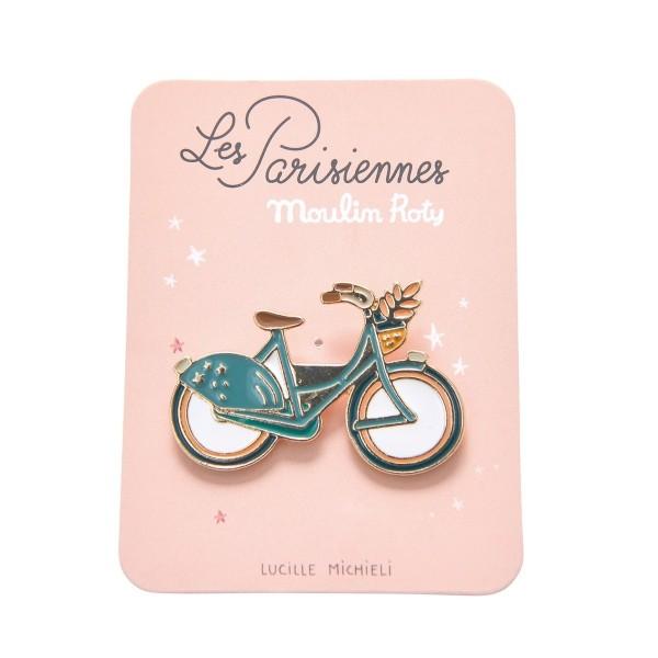 Pin Fahrrad `Les Parisiennes`