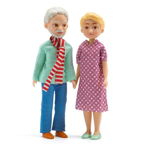 DJECO Biegepuppen: Großeltern