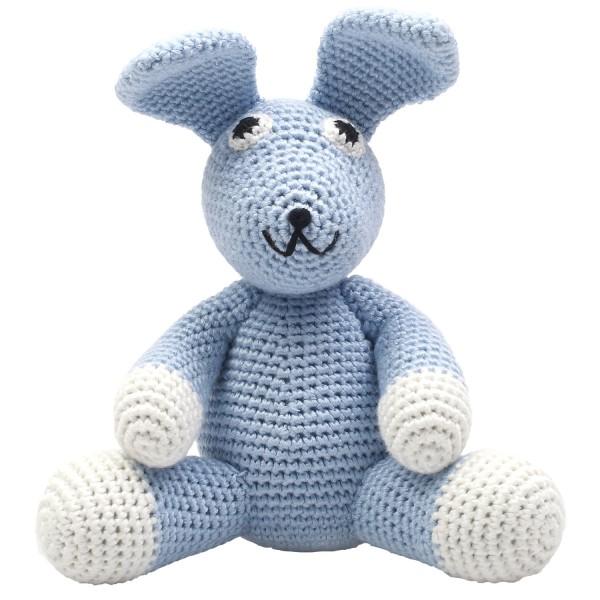 Teddybär - Sir Rabbit blau