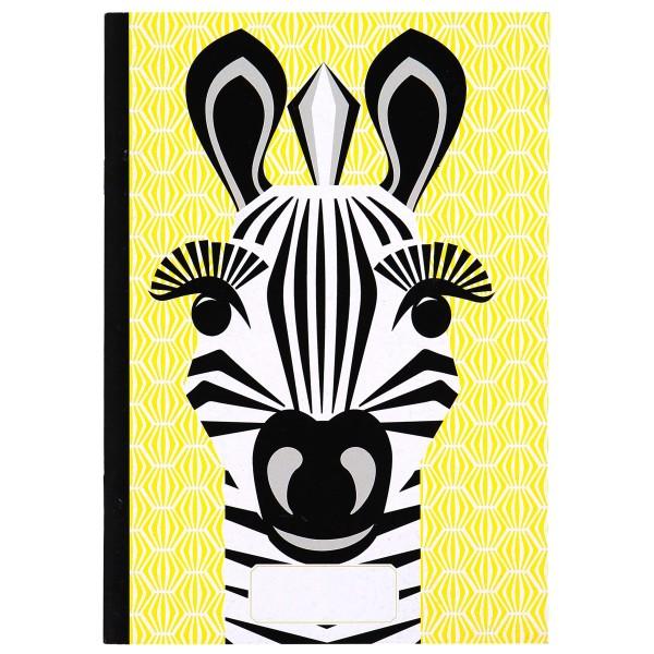 Notizbuch - A5 - MIBO - Zebra