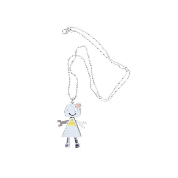 Halskette Roboter Mädchen
