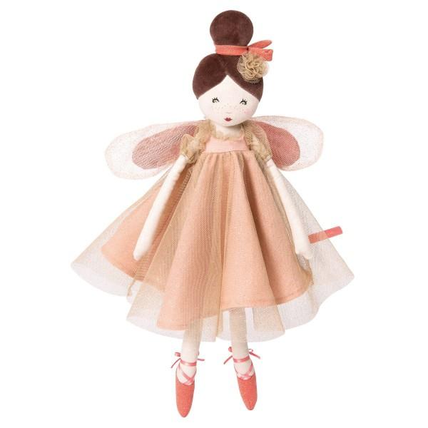 Puppe Fee Rosa