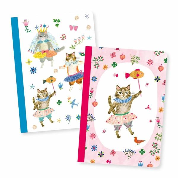 DJECO Notizbuch: Aiko little notebooks