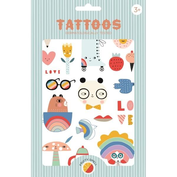 Tattoos Panda Love