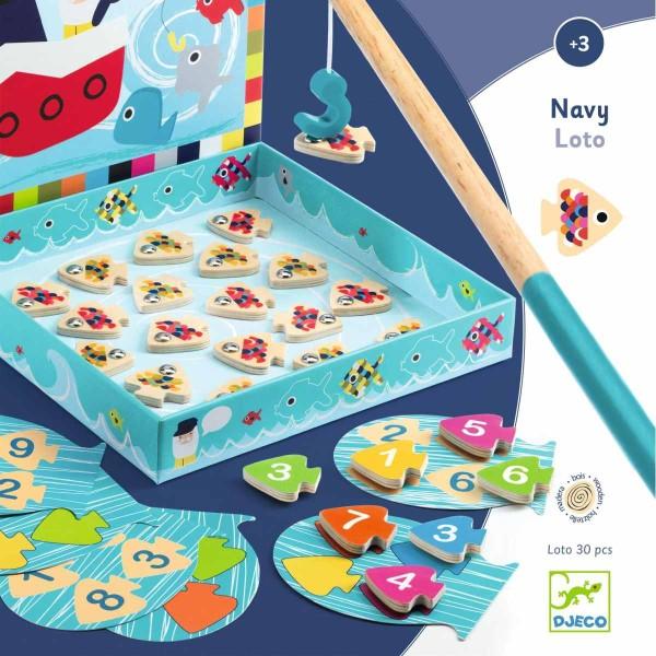 DJECO Spiel Navy-Loto