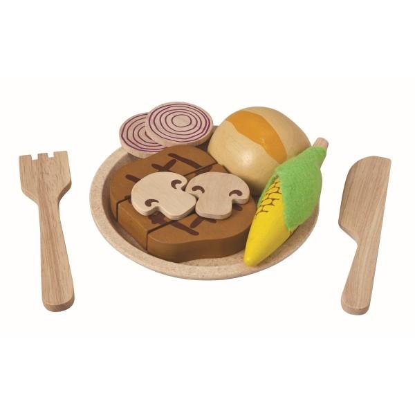 Steak-Set für die Kinderküche