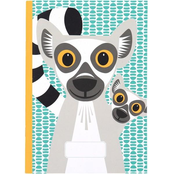 Notizbuch - A5 - MIBO - Lemur