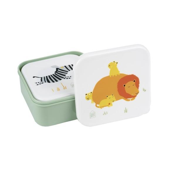 PETIT JOUR Brotbox Set Savanne