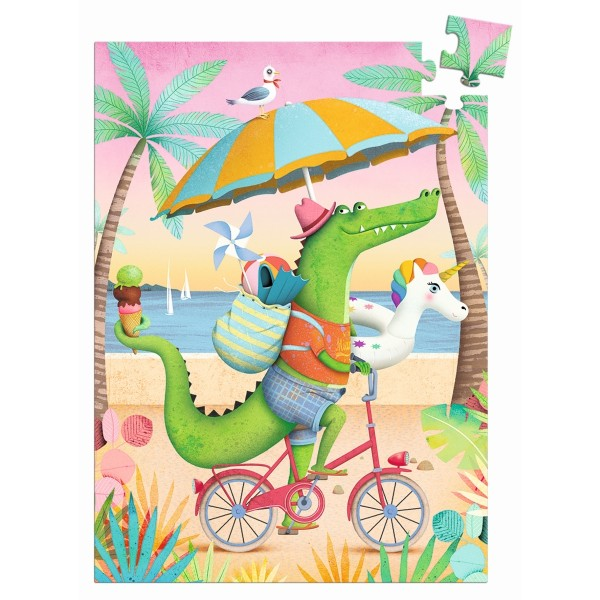 Minipuzzle: Coco beach - 60 Teile