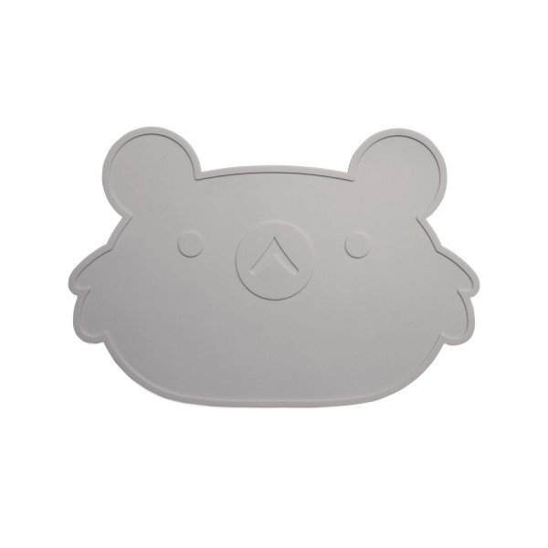 Platzset Koala in Grau