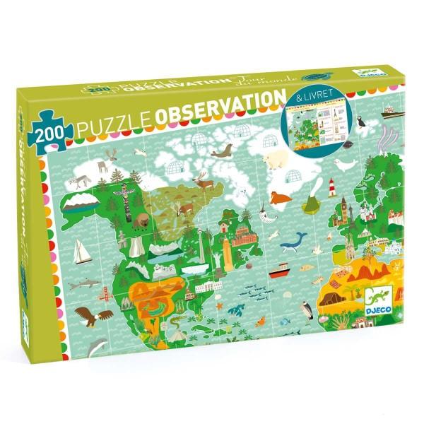 Puzzle Wimmelbild Weltreise - 200 Teile