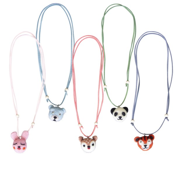 Halsketten Tiere sortiert