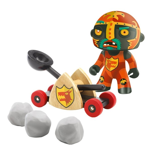 DJECO Arty Toys - Ritter Baldy & Steinschleuder