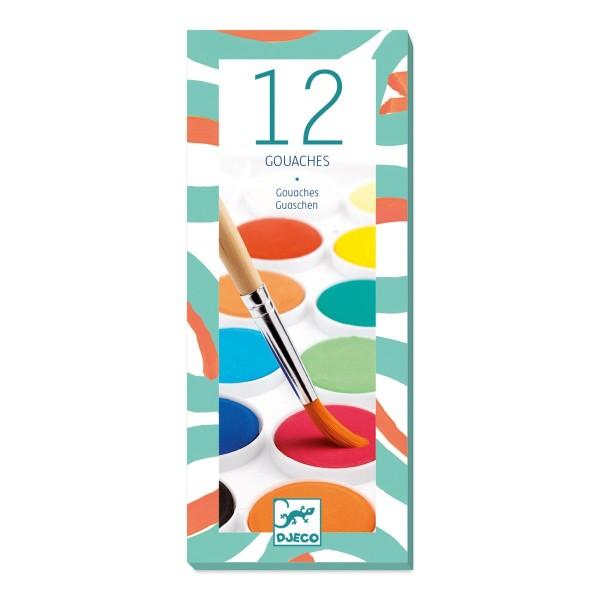 Farben: 12 Wasserfarben