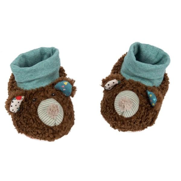 Babyschühchen Bär