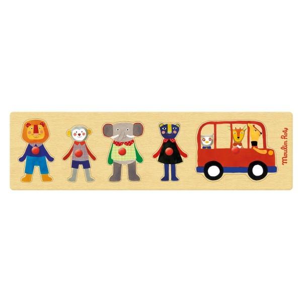 Puzzle Bus Les Popipo
