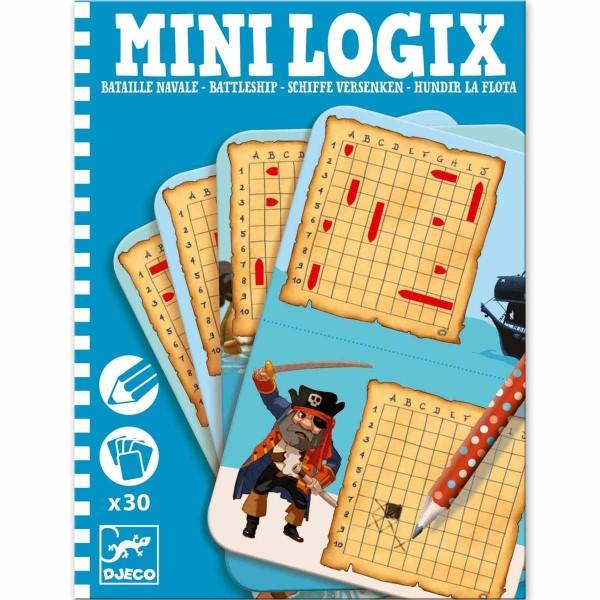 DJECO Mini Logix: Schiffe versenken