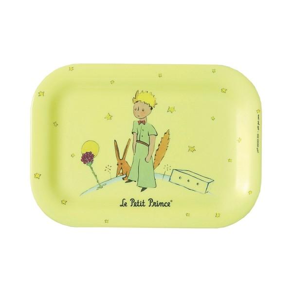 Kleines Tablett gelb Der kleine Prinz