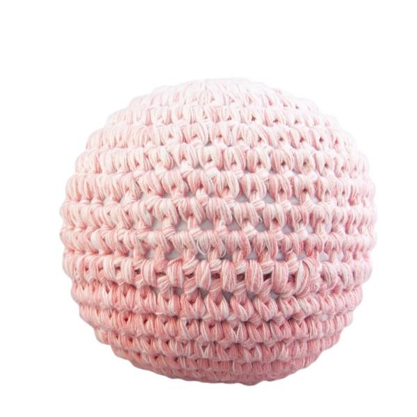 Häkelball rosa