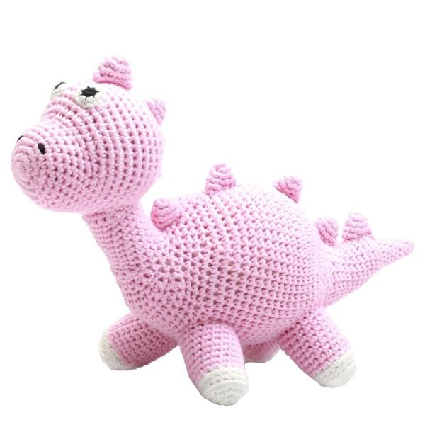 Teddybär - Miss Dino rosa