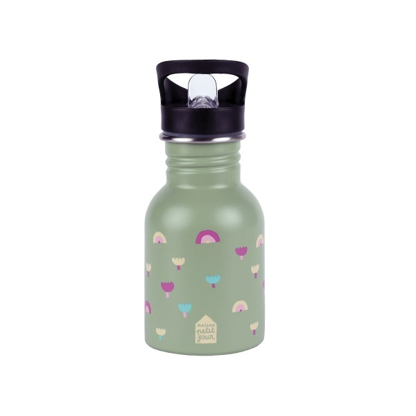 Edelstahl Flasche 0,35L Regenbogen