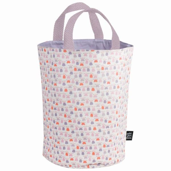 Spielzeug-Aufbewahrungskorb/Wäschekorb Poupees
