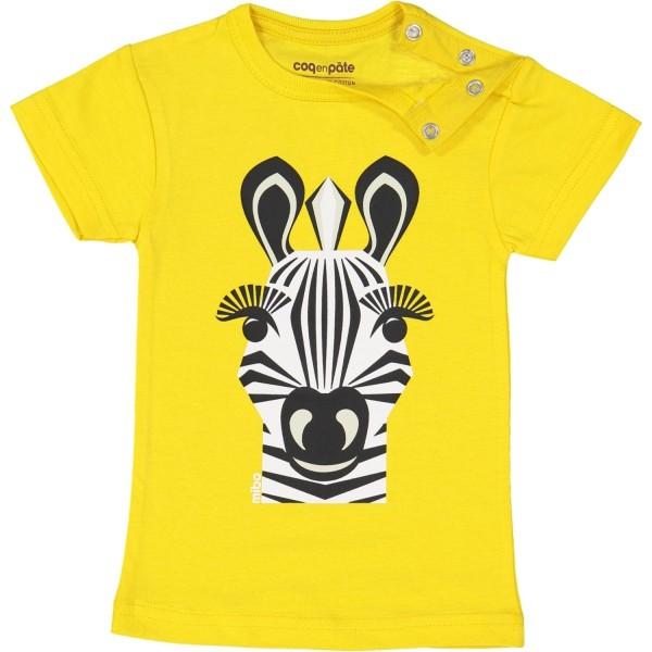 Kurzarm T-Shirt Zebra 1 Jahr