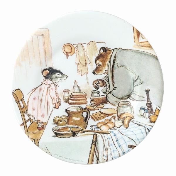 Melamin - Dessertteller Ernest und Célestine