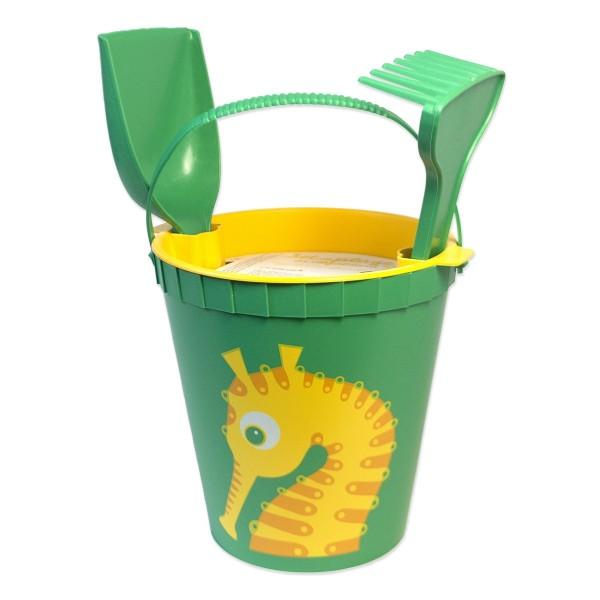 Strandspielzeug Seepferdchen - grün