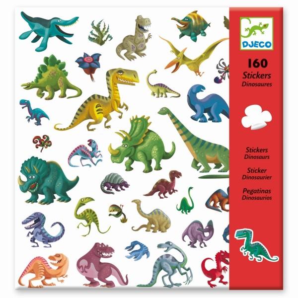 160 Sticker: Dinosaurier