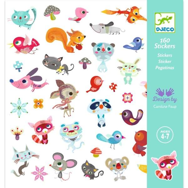 Sticker: Kleine Freunde