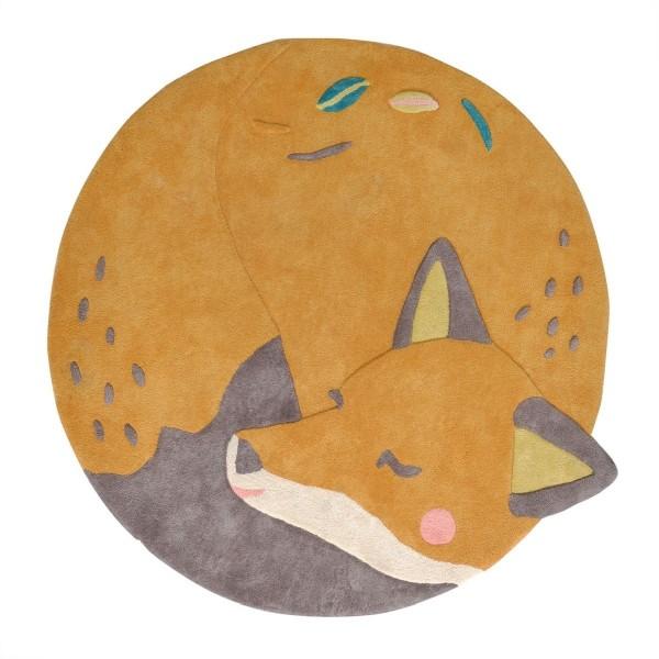 Baumwollteppich Fuchs