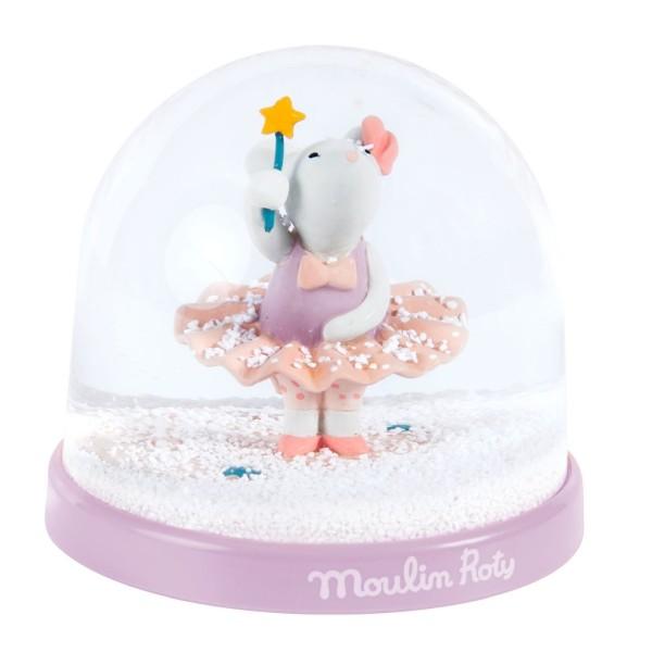 Schneekugel Maus Il était und fois