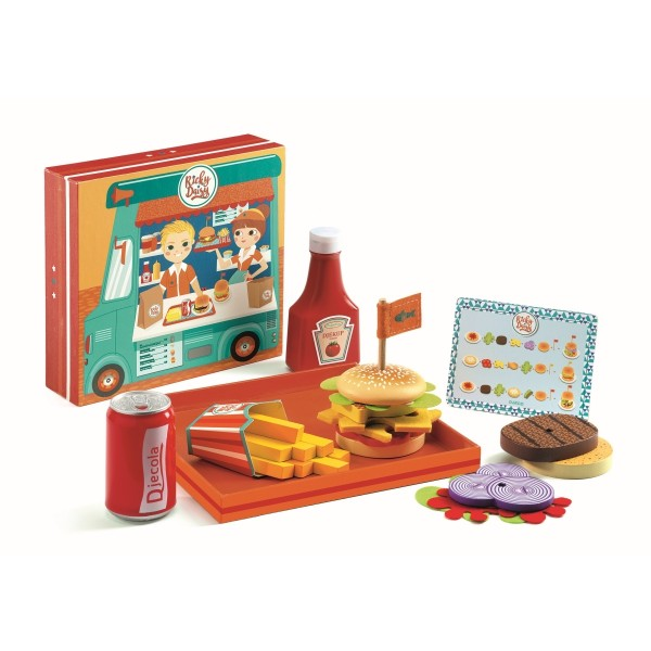 Kinderküche: Burgershop