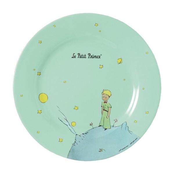 Melamin - Teller grün Der kleine Prinz