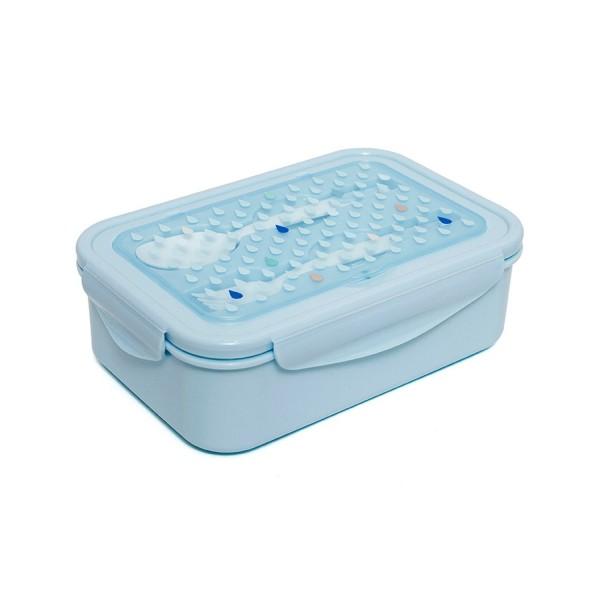 Bento Brotbox blau