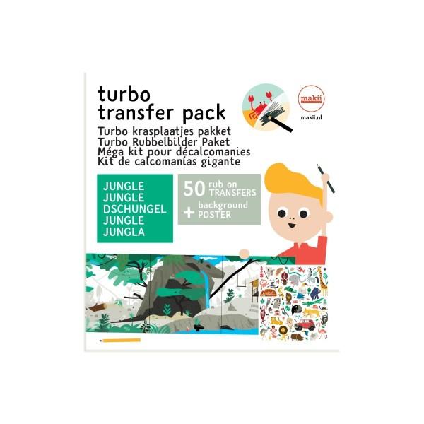 Turbo Rubbelbilder Dschungel