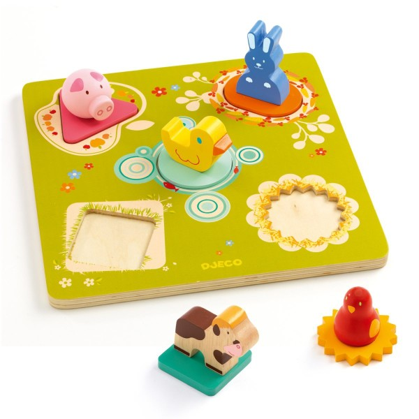 3D-Steckpuzzle - Duck & friends