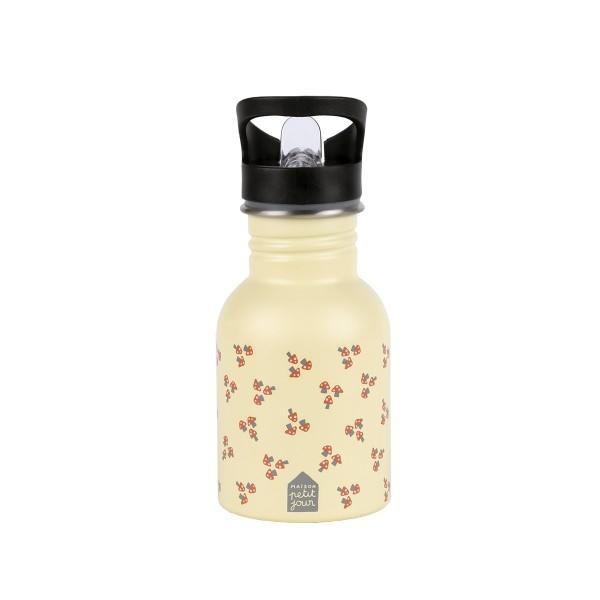 Edelstahl Flasche 0,35L Pilze
