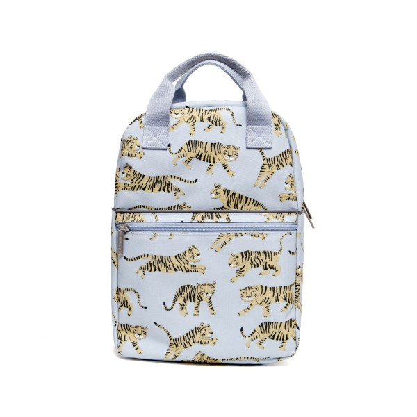 Rucksack Tiger groß grau