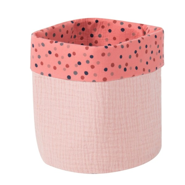 Runder Korb rosa
